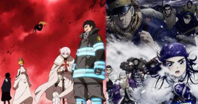 Даты выхода 2 сезона Enen no Shouboutai и 3 сезона Golden Kamuy